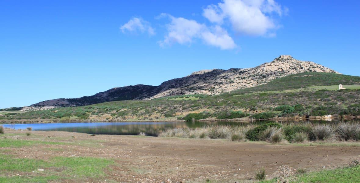 Vista del Castellaccio sull'Isola dell'Asinara