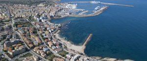Porto Torres vista dall'Alto sul golfo dell'Asinara