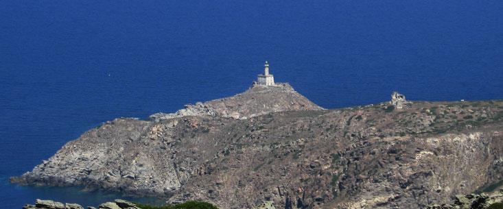 Faro di Punta Scorno sull'Asinara