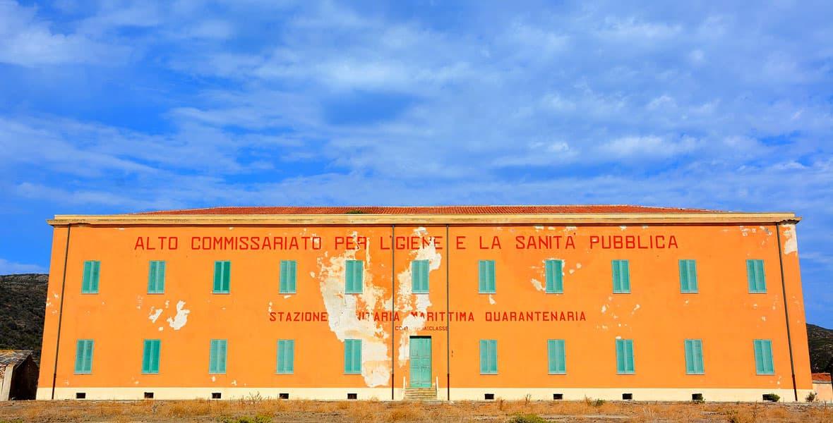 Stazione sanitaria sull'Isola dell'Asinara